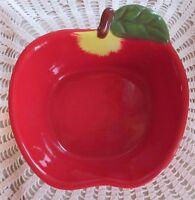 Boston Warehouse Red Apple Pickin Series Dip Bowl