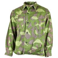 Original Finnish army camo uniform M-62 Reversible suit jacket Large sizes