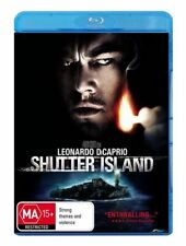 *New & Sealed*  Shutter Island  (Blu-ray, 2010) Leonardo DiCaprio. Region B AUS
