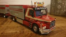 "Tekno scania bullnose T143 drawbar tipper "" JAC VAN 'T KRUIS "" NEW MODEL 1:50"