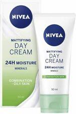 NIVEA Visage Daily Essentials Oil Free 24hr Moisture Face Day Cream 50ml