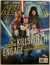 Revolver Killswitch Engage Baroness Megadeath Danzig Jan 2016 FREE SHIPPING