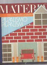 materia rivista di architettura numero 17 -  3° quadrimestre 1994