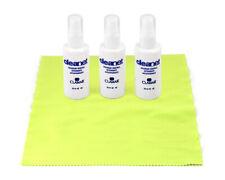 3 x Spray ANTIAPPANNANTE per occhiali Vista 50ml + microfibra OMAGGIO detergente