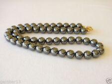 Gemstone Hematite Beaded Costume Necklaces & Pendants
