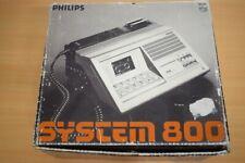 Audio Liebhaber Objekt aus 1982: Philips System 800 Diktiergerät! Sehr Komplett!