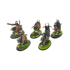 SLAVES TO DARKNESS 5 chaos knights #2 PRO PAINTED Sigmar knight nurgle
