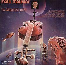 PAUL MAURIAT 16 greatest hits México CD PolyGram !