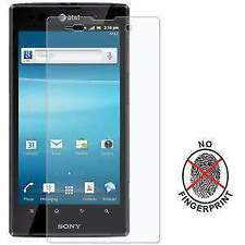 AMZER KRISTAL CLEAR MATTE SCREEN GUARD PROTECTOR SHIELD FOR SONY XPERIA ION