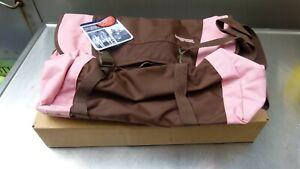 JanSport Flywheel Pink Sunset Messenger Bag Adjustable Shoulder Strap