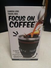 Camera Lens Travel Mug Focus On Coffee Gift For Photographer Canon 24-105 F4 L