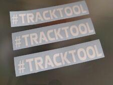 3 Stück #TRACKTOOL Sticker Ring Nordschleife Nürburg jdm Scene  Aufkleber  neu