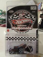 Hot Wheels Chicago 5th Annual Collectors Nationals Scorchin' Scooter Black