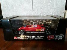 Brumm 1/43 scale Ferrari 126C2 GP Italia 1982