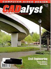 magazine, nostalgic, collectible, CADalyst 1993-07