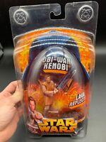 Star Wars Revenge of the Sith Obi Wan Kenobi Action Figure Lava Reflections