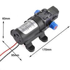 Ultra 80W DC12V 5.5Lpm Diaphragm High Pressure Water Pump Self-Priming WARRANTY