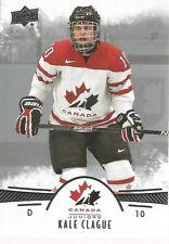Kale Clague #49 - 2016 Team Canada Juniors - Base Men
