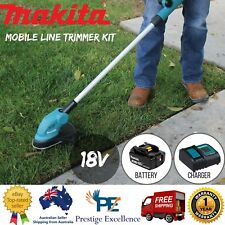 Line Trimmer Li-Ion Mobile Makita DUR181SF LXT 18V Outdoor Grass Lawn Tools Set