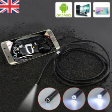 Useful 1-5M USB Endoscope Borescope Snake Inspection Camera Android Mobile Phone