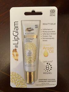 B/NEW #LipGlam Natural Lanolin Beauty Balm