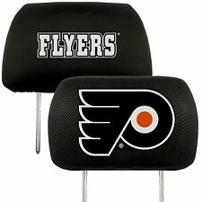 Philadelphia Flyers 2-Pack Auto Car Truck Embroidered Headrest Covers