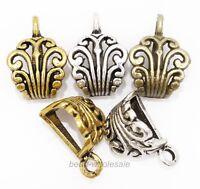 10pcs Antique Silver/Gold/Bronze Color Metal Connectors for Necklace Bracelet