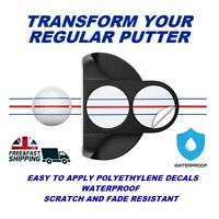 TRIPLE TRACK Putter conversion. PACK OF 6 DECALS