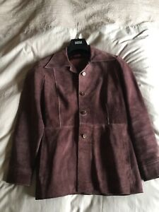 Vintage 1970s Suede Jacket Medium