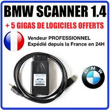 Interface Diagnostique BMW Scanner V1.4 / K+DCAN / K-CAN / OBD2 OBDII / ELM
