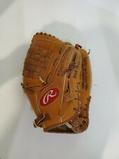 Rawlings Large Kid Brown Leather Baseball Glove.