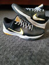 🔥 Nike Sz 9.5 Zoom Kobe 5 V Del Sol Men's Black White Yellow 386429-002