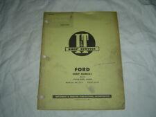 Ford major tractor repair service manual