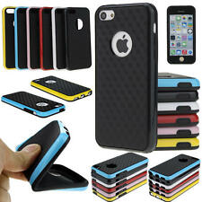 Hard TPU Bumper Thin Hybrid Back Case Cover For iPhone Samsung Shockproof Skin