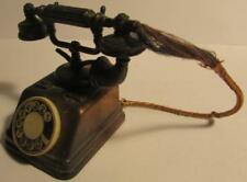 Miniature Copper Die Cast Pencil Sharpener Vintage Rotary Telephone