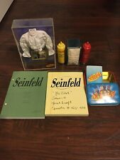 Seinfeld Puffy Shirt, Monks Condiments, Playing Cards and Scripts.