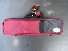Genuine Kaces Red Ultra-light Poly Foam B or C Flute Case NEW! Ships Fast!