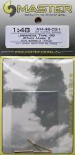 Master 1/48 Japanese Type 99 Mark 2 20mm Gun Barrels # 48021