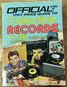 1984 Collectible Records Official Price Guide