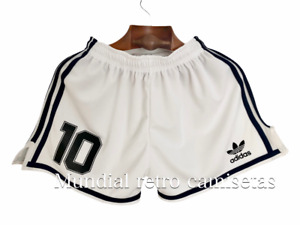 Maradona Caniggia Argentina world cup 1990 Short pantaloncini away (retro)