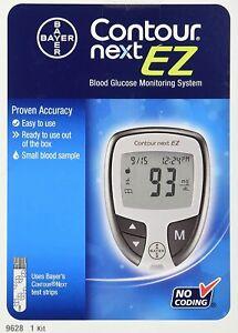 Glucometer Blood Sugar Monitoring Device Diabetic Test Glucose Kit Digital Pack