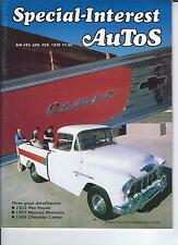 SPECIAL INTEREST AUTO -SIA 43, 1956 Chevy Cameo, 1952 Mercury, 1933 Reo Royale +