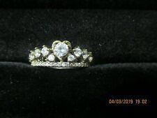 Fragrant Jewels Queen of Diamonds Crown Ring Ring Size 10