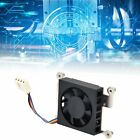 Cooling Fan Electric CPU Cooler Low Noise Set Kit with Paste for RaspberryPi New