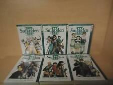 AKI SHIMIZU - LOT OF 6 BOOKS - SUIKODEN III - VOLUMES 2-7 - ENGLISH