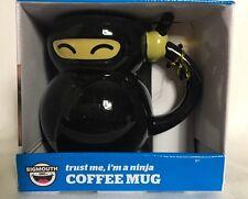 Trust Me I'm A NINJA Novelty Coffee Mug Big Mouth NEW