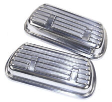 EMPI 9138VW BUG BUGGY SAND RAIL CLIP-ON FINNED ALUMINUM VALVE COVERS  W/GASKETS