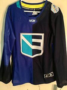 Adidas Women's Premier World Cup Jersey North America Hockey Team Blue sz XL