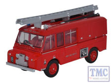 76LRC004 Oxford Diecast OO Gauge Land Rover FT6 Carmichael Army Fire Service