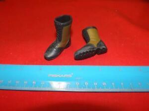 1/6 Scale GI joe Green & Black Combat Boots